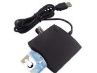 Transcend SMART CARD READER USB PC/SC Black