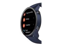 Xiaomi Mi Watch - Marineblå - smart ur med rem - TPU - marineblå - håndledsstørrelse: 130-220 mm - display 1.39 - Bluetooth - 32 g