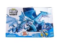 ZURU Robo Alive Ferocious Roaring Dragon Battery-powered Robotic Toy, Robo Alive, Dreng/Pige, 3 År, Flerfarvet