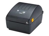 Zebra ZD200 Series ZD230 - Etiketprinter - termo transfer - Rulle (11,2 cm) - 203 dpi - op til 152 mm/sek. - USB 2.0, Wi-Fi(ac), Bluetooth 4.1