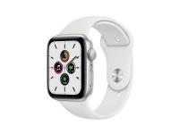 Apple Watch SE, OLED, Berøringsskærm, 32 GB, Wi-Fi, GPS (satellit), Sølv
