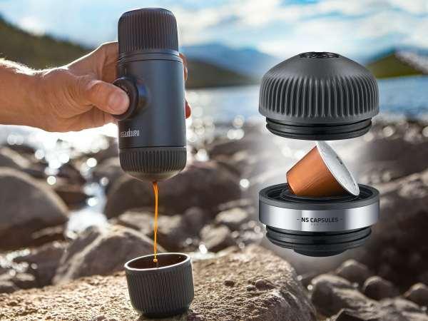 Nanopresso NS Portabelt Espresso-sæt