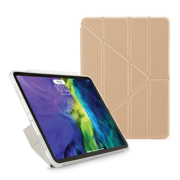 "Pipetto Origami Cover til iPad 10.9"" - Champagne guld"