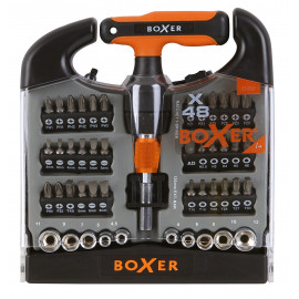Boxer Toppe- og bitssæt 48 dele