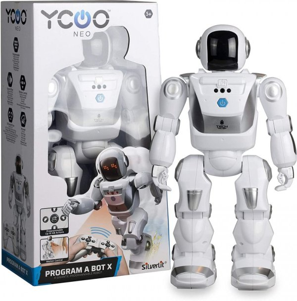 Silverlit Ycoo - Fjernstyret Robot - Program A Bot X