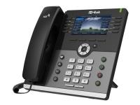 Tiptel Htek UC926E - VoIP-telefon - IEEE 802.11b/g/n (Wi-Fi) / Bluetooth 4.0 EDR - 5-vejs opkaldskapacitet - SIP, SIP v2, SRTP, ZRTP