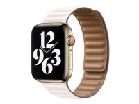 Apple - Læderlink for smart watch - 44 mm - M/L størrelse - kalk - for Watch (42 mm, 44 mm)
