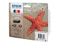 Epson 603 Multipack - 4 pakker - sort, gul, cyan, magenta - original - blister - blækpatron - for Expression Home XP-2105, 2150, 3105, 3150, 4105, 41