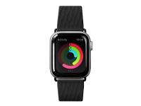 Laut Active 2.0 Sport - Urrem for smart watch - sort - for Apple Watch (42 mm, 44 mm)