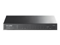 TP-Link TL-SG2210P 8-Port Gigabit Smart PoE Switch with 2 SFP Slots - Switch - Administreret - 8 x 10/100/1000 + 2 x SFP - desktop - PoE (53 W)