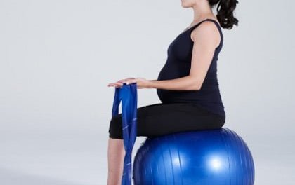 Pilates Pregnancy Series – Band Arm Pulls