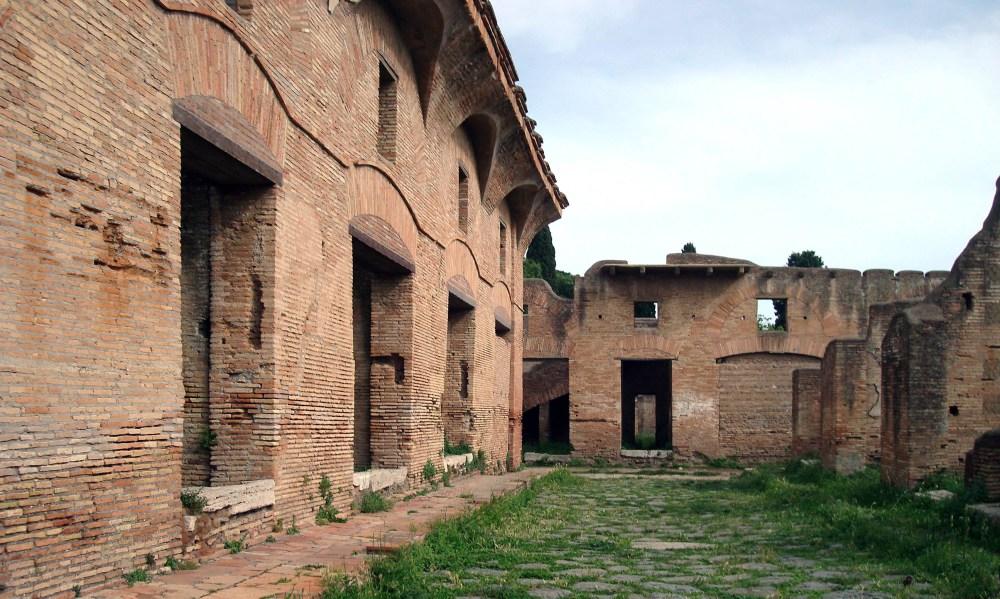 medium resolution of ostia antica regione i via dei balconi