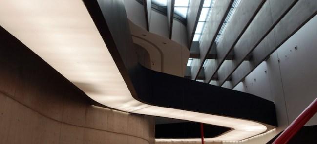 Zaha Hadid, MAXXI National Museum of XXI Century Arts, 1998 - 2009 (opened 2010), Via Guido Reni, Rome.