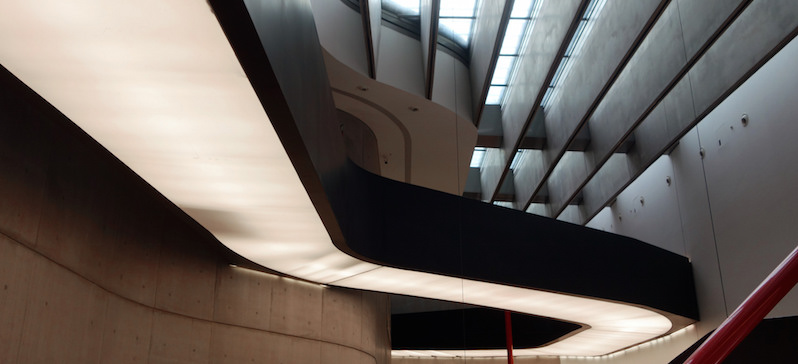 Zaha Hadid, MAXXI National Museum of XXI Century Arts, 1998 - 2009 (opened 2010), Via Guido Reni, Rome.