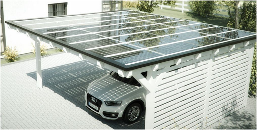 Carport Mit Photovoltaik Carport Mit Photovoltaik
