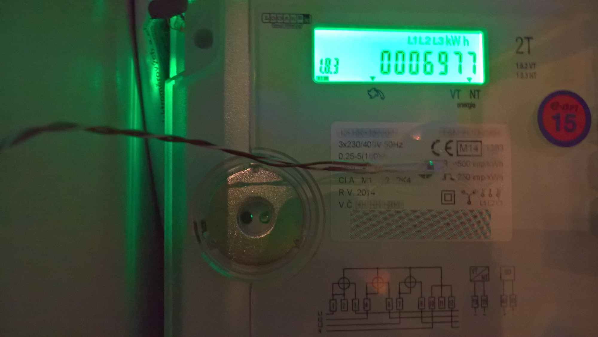 hight resolution of connecting your electricity meter to loxone