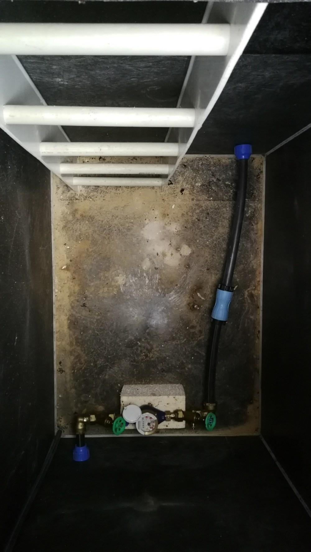 medium resolution of underground inspection water shaft