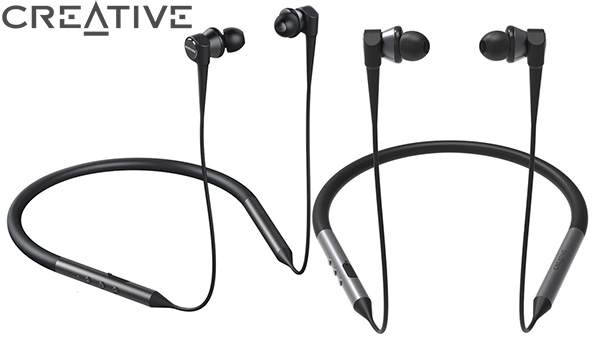 Creative Aurvana Trio Wireless, cuffie a triplo driver Bluetooth