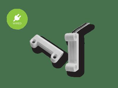 contatto magnetico filare montaggio esterno ENG