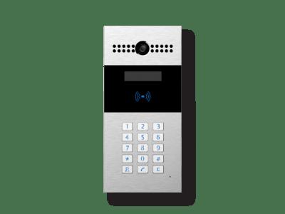 dispositivo videocitofono esterno con tastiera