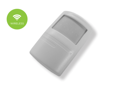 sensore volumetrico doppia tecnologia wireless