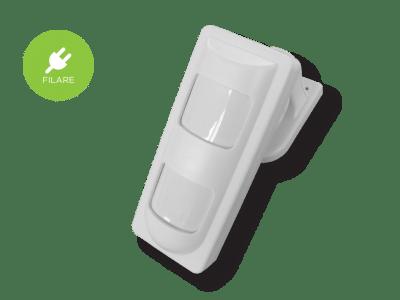 sensore volumetrico tripla tecnologia filare da esterno