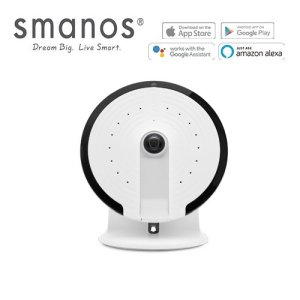Smanos UFO Panoramic WiFi Camera