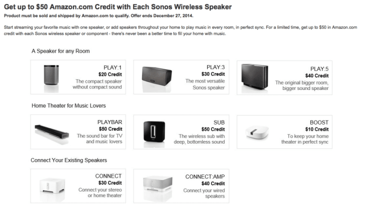 Sonos Coupons and Sonos On Sale