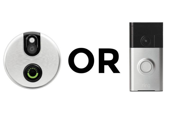 Ring or Skybell? The Wifi Doorbell Showdown Review