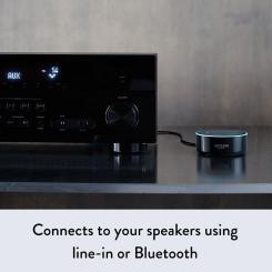 Amazon Echo Dot 2nd Generation connected to speaker
