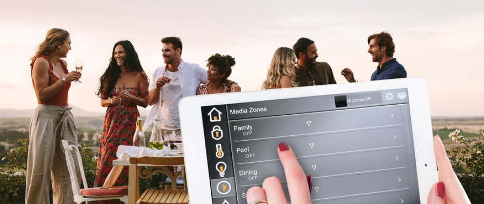 Smart Homes Pro » ELAN ipad Music Zones