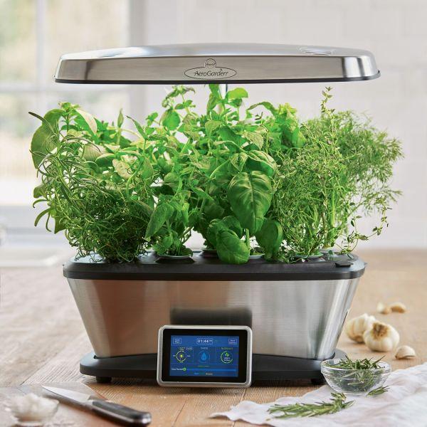 Aerogarden Bounty Wi-fi With Gourmet Herb Seed Pod Kit