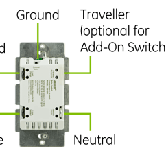 Lutron 3 Way Dimmer Switch Wiring Diagram Schneider Mccb Ge Data 45710 In Wall Z Wave Light Use As Add On To