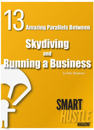amazing parallels between skydiving and running a business