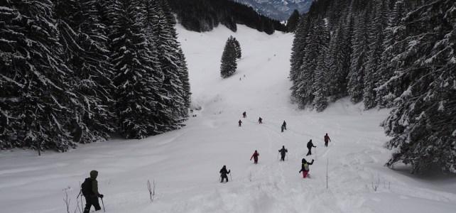 Hiking to Immenstädter Horn and and Gschwenderhorn Horn