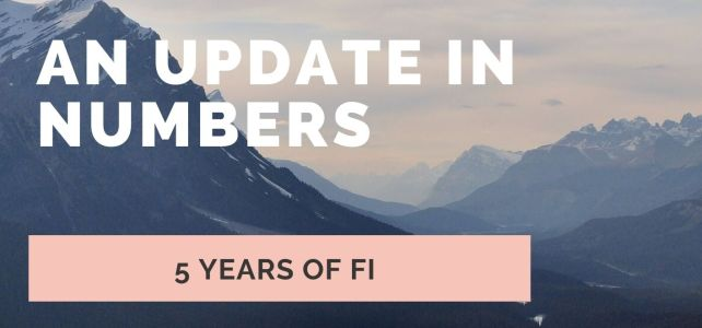 5 year of FI journey – An update in numbers