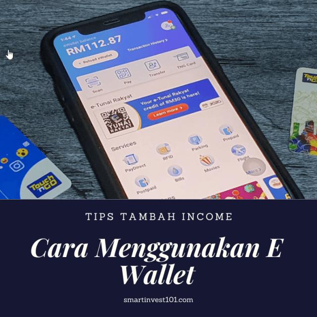 cara menggunakan e wallet