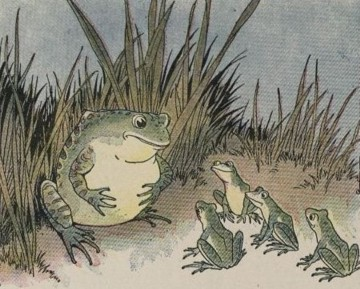 THE FROGS AND THE OX – Aesop Fables for Kids