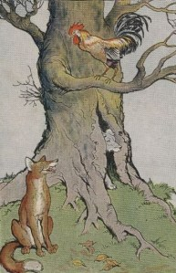 Read more about the article THE DOG, THE COCK, AND THE FOX – Aesop Fables for Kids