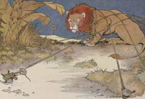 Read more about the article THE LION AND THE MOUSE – Aesop Fables for Kids