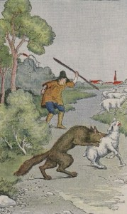THE SHEPHERD BOY AND THE WOLF – Aesop Fables for Kids