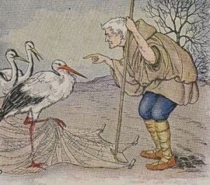 Read more about the article THE FARMER AND THE STORK – Aesop Fables for Kids