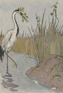 Read more about the article THE FROGS WHO WISHED FOR A KING – Aesop Fables for Kids