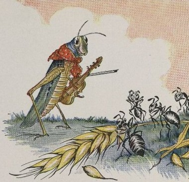 THE ANTS AND THE GRASSHOPPER – Aesop Fables for Kids