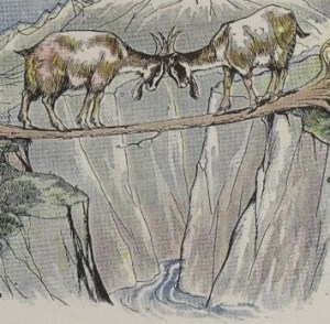 Read more about the article THE TWO GOATS – Aesop Fables for Kids