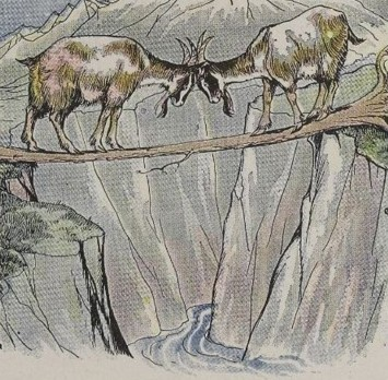 THE TWO GOATS – Aesop Fables for Kids