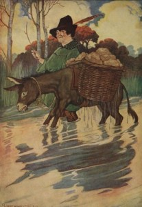 Read more about the article THE ASS AND THE LOAD OF SALT – Aesop Fables for Kids