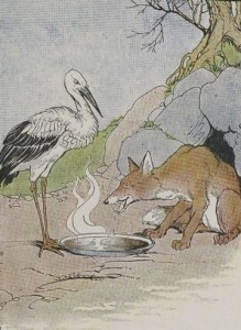 Read more about the article THE FOX AND THE STORK – Aesop Fables for Kids