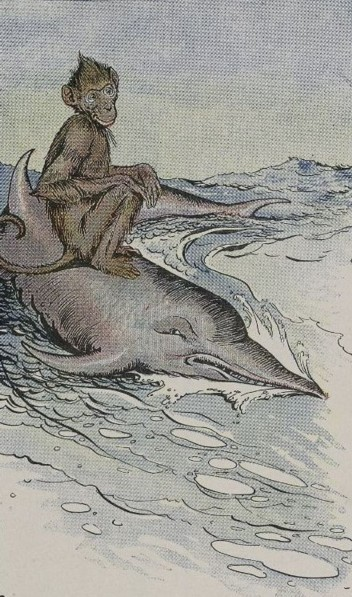 THE MONKEY AND THE DOLPHIN – Aesop Fables for Kids