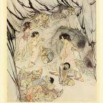 THE ENCHANTED CAVE OF CESH CORRAN – James Stephens – Irish Fairy Tales